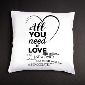 Poduszka - All You Need Is Love And Coffee